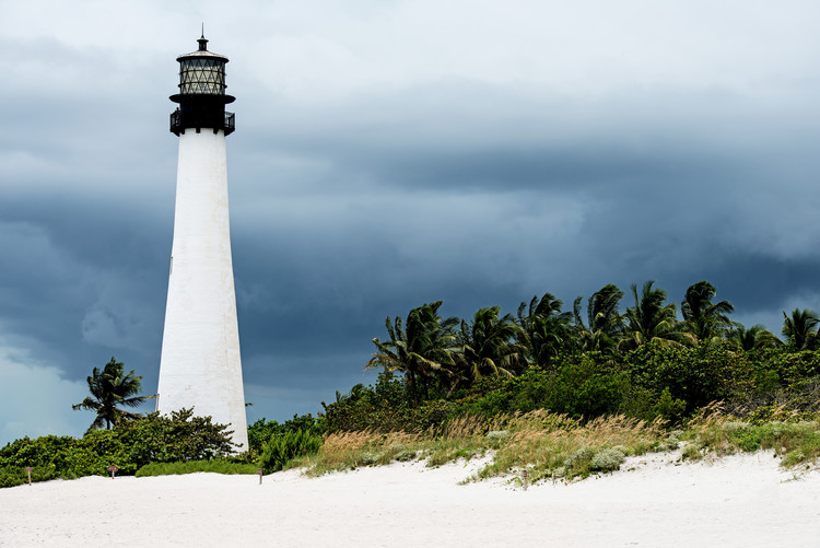Art Print on Demand Key Biscayne Light House