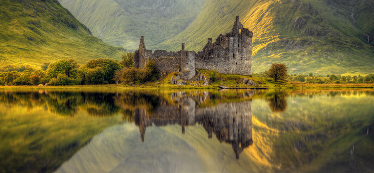 Art Print on Demand Kilchurn