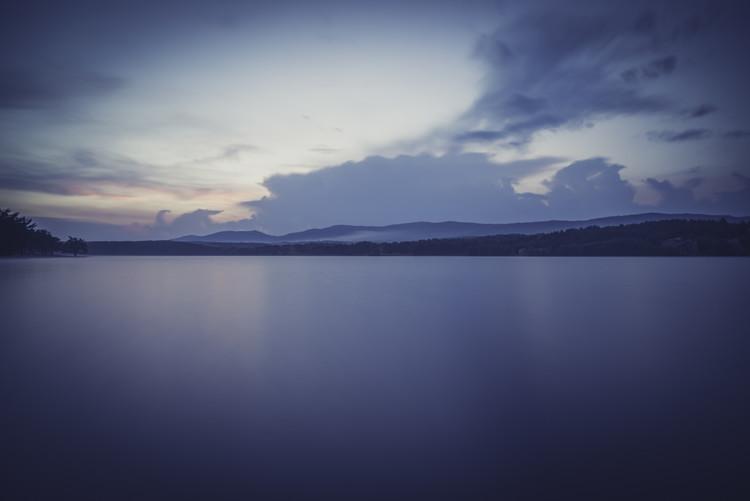 Art Print on Demand Landscapes of a big lake