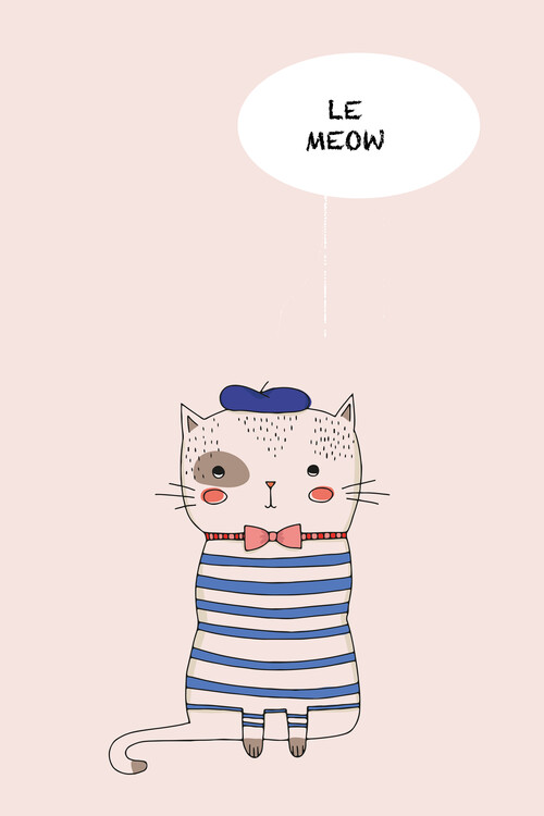 Illustration Le Meow