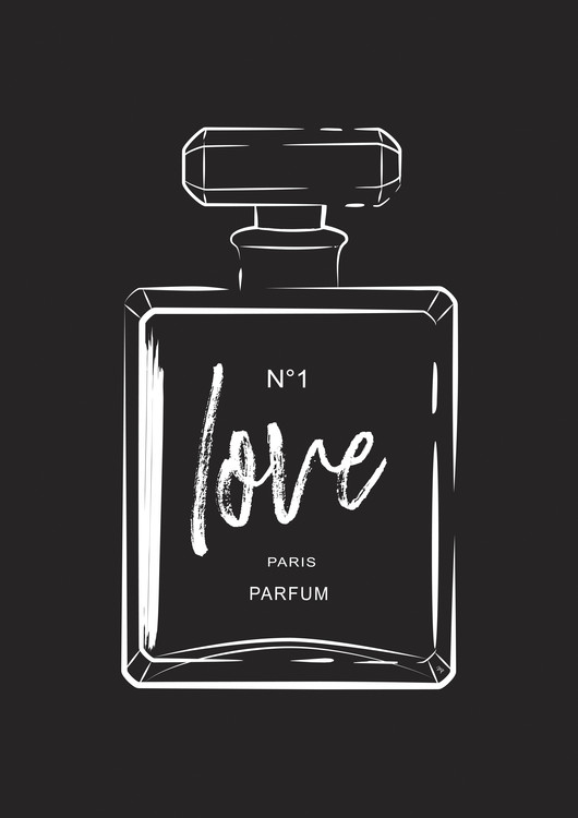 Art Print on Demand Love Perfume