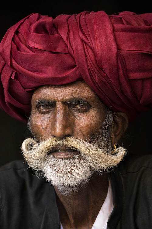 Art Print on Demand Man from Rajasthan