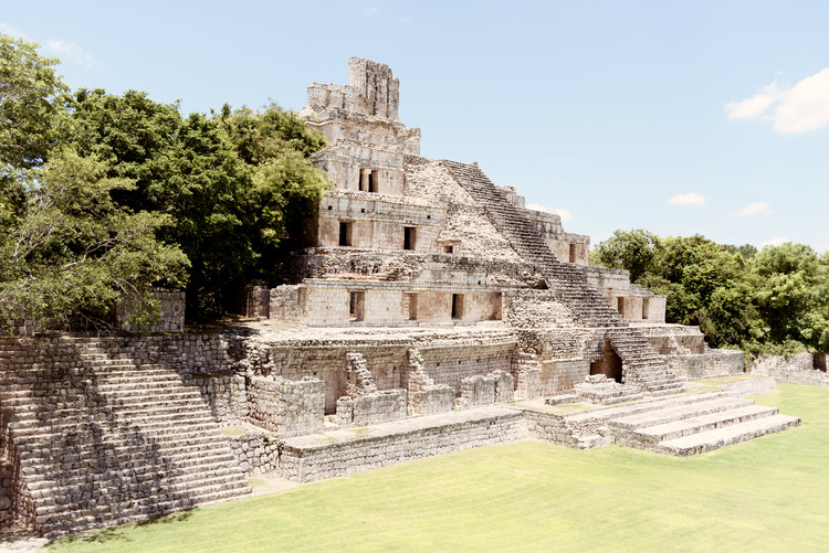 Art Print on Demand Maya Archaeological Site