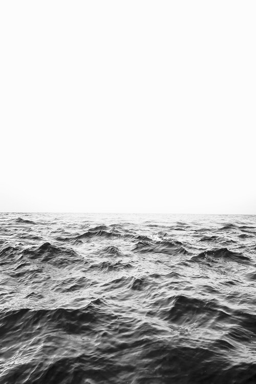 Art Print on Demand Minimalist ocean