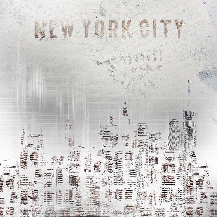Art Print on Demand Modern New York City Skylines