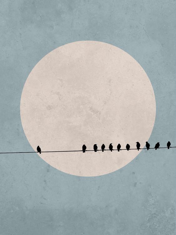 Art Print on Demand moonbird3