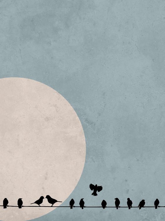 Art Print on Demand moonbird4