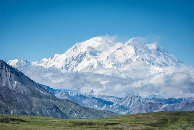 Art Print on Demand Mt. Denali - Alaska 20,310'