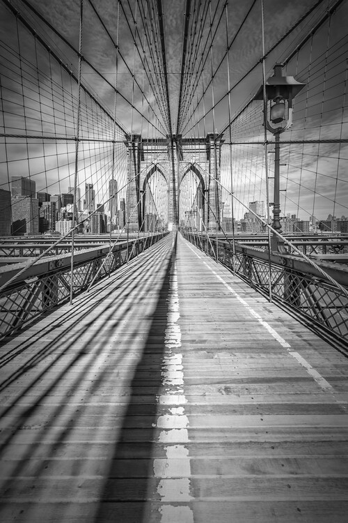 Art Print on Demand NEW YORK CITY Brooklyn Bridge