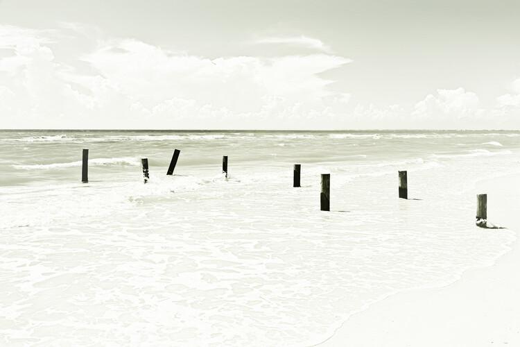 Art Print on Demand Ocean View | Vintage