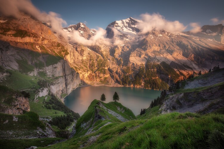 Art Print on Demand Oeschinensee