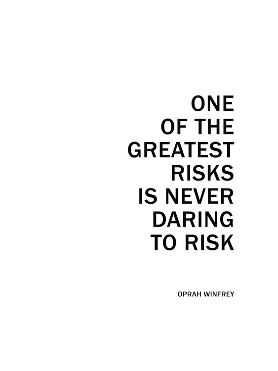 Art Print on Demand oprah quote2
