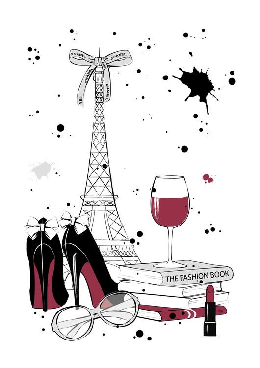Art Print on Demand Paris Style