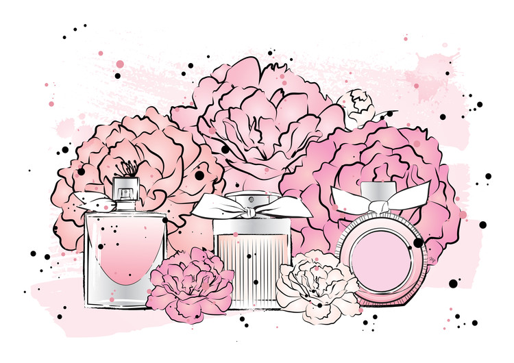 Art Print on Demand Peony Perfumes2
