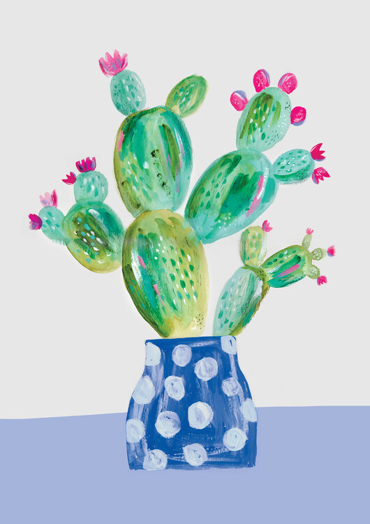 Art Print on Demand Prickly pear