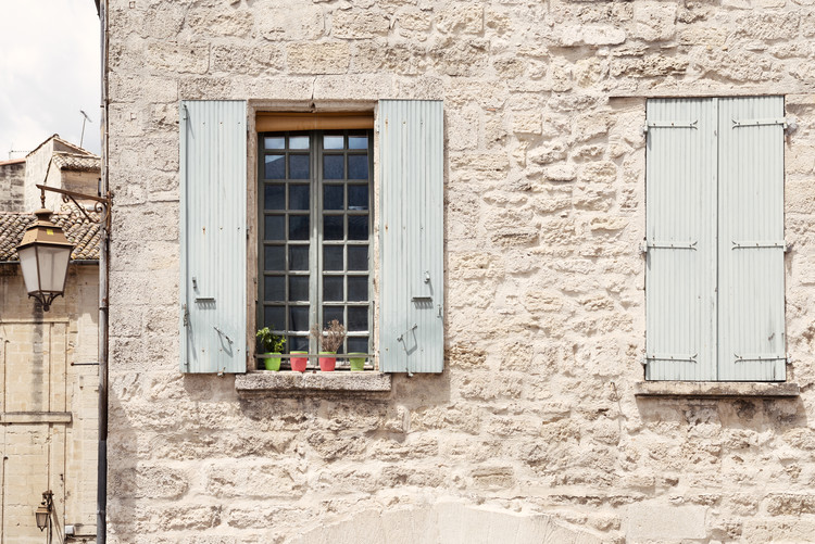 Art Print on Demand Provencal Facade