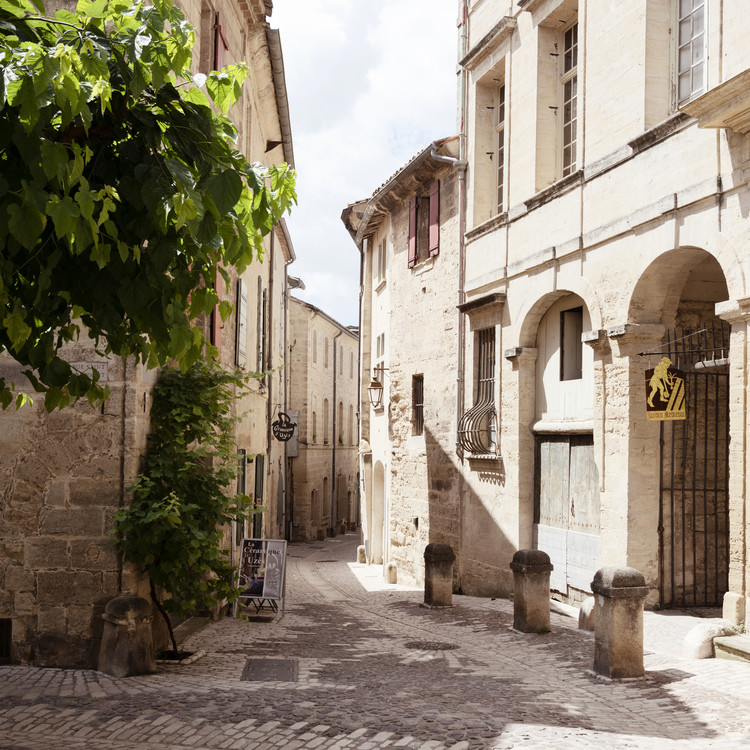 Art Print on Demand Provencal Street Scene