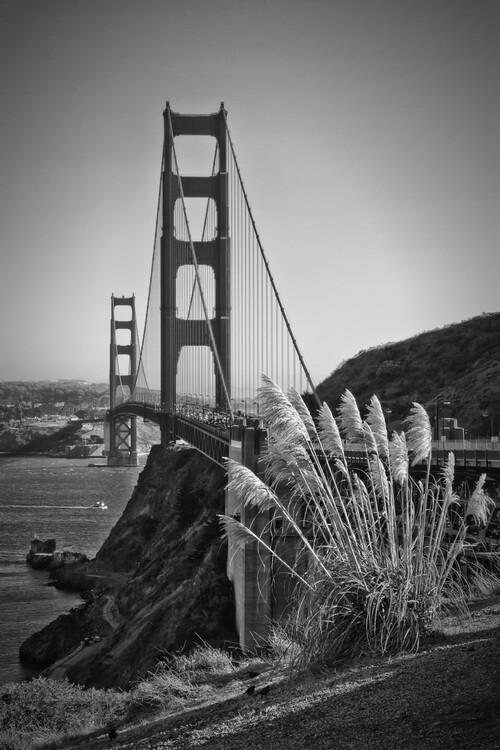 Art Print on Demand San Francisco Golden Gate Bridge
