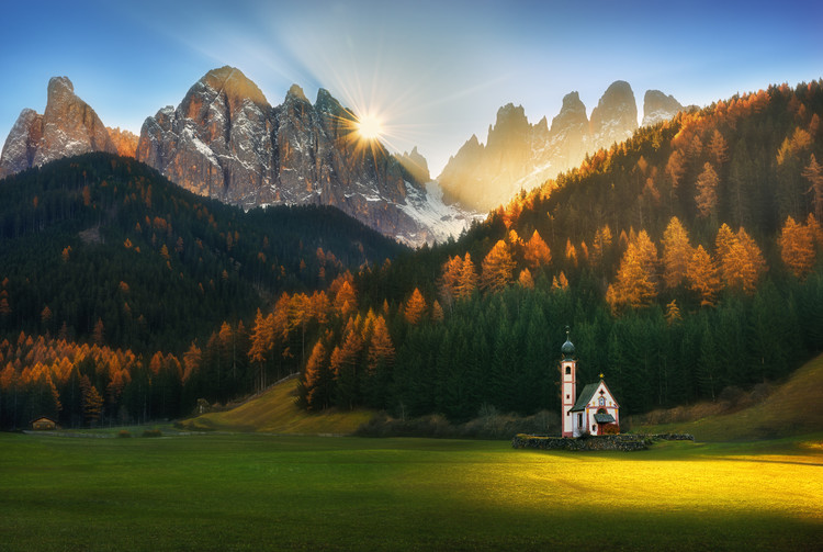 Art Print on Demand Santa Maddalena...