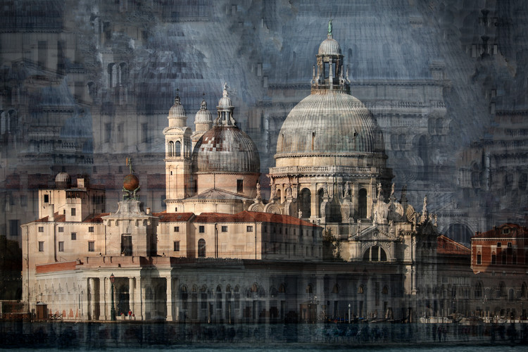Art Print on Demand Santa Maria della Salute