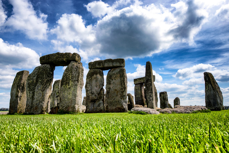Art Print on Demand Stonehenge - Historic Wessex