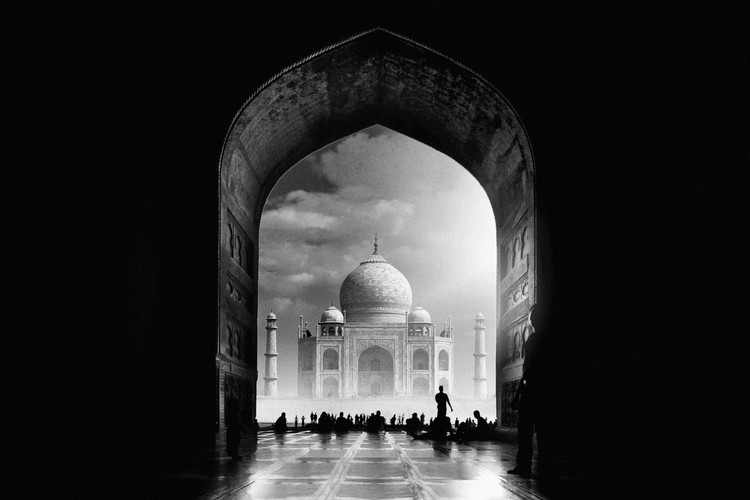 Art Print on Demand Taj Mahal