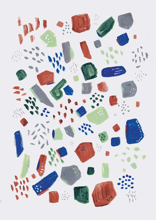 Art Print on Demand Terrazzo