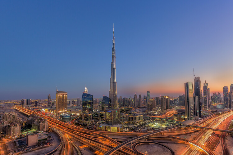 Art Print on Demand The Amazing Burj Khalifah