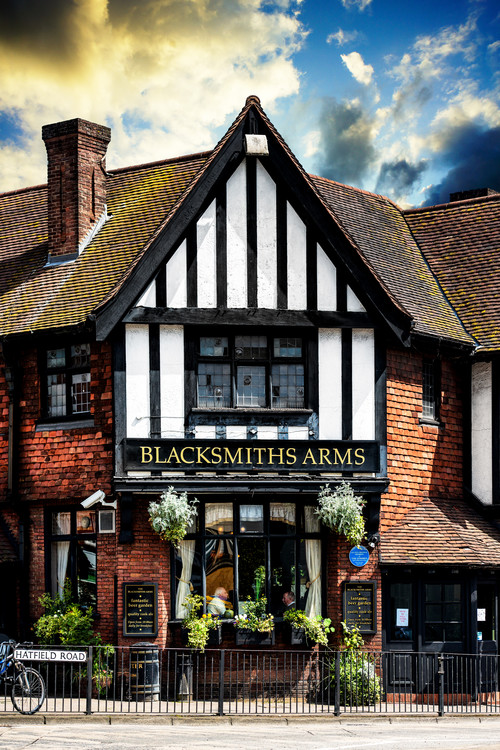 Art Print on Demand The Blacksmiths Arms