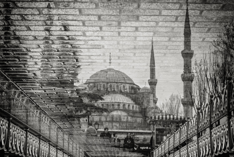 Art Print on Demand The Blue Mosque II