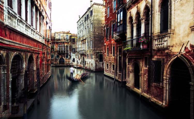 Art Print on Demand The Gondolier