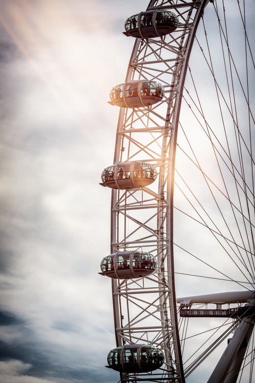 Art Print on Demand The London Eye