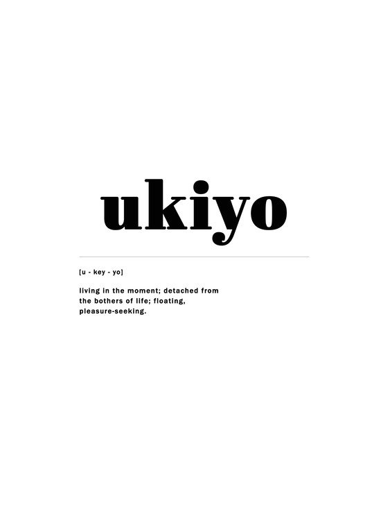 Art Print on Demand ukiyo