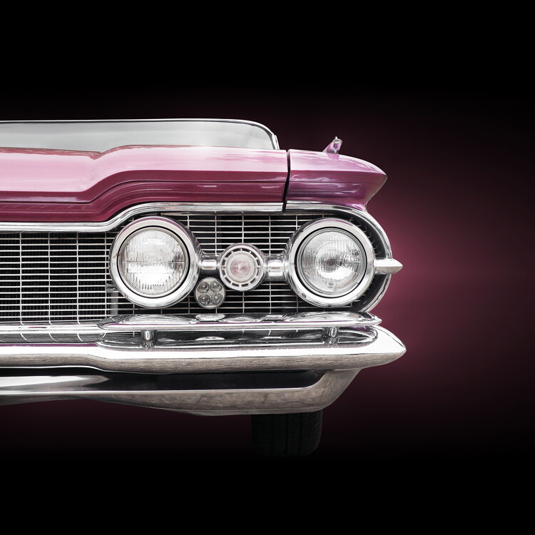 Art Print on Demand US classic car 1959 Super 88