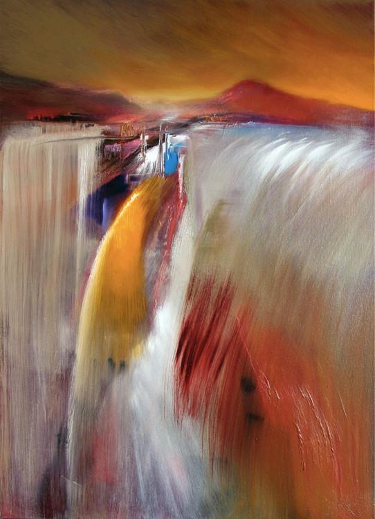 Art Print on Demand Waterfall
