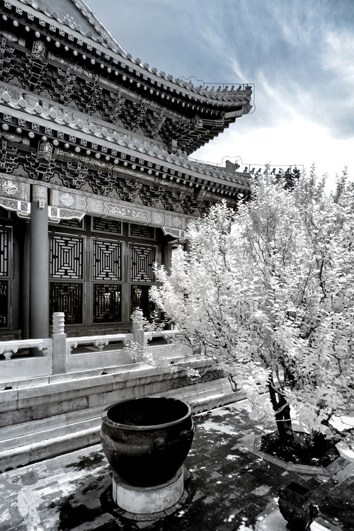 Art Print on Demand White Summer Palace