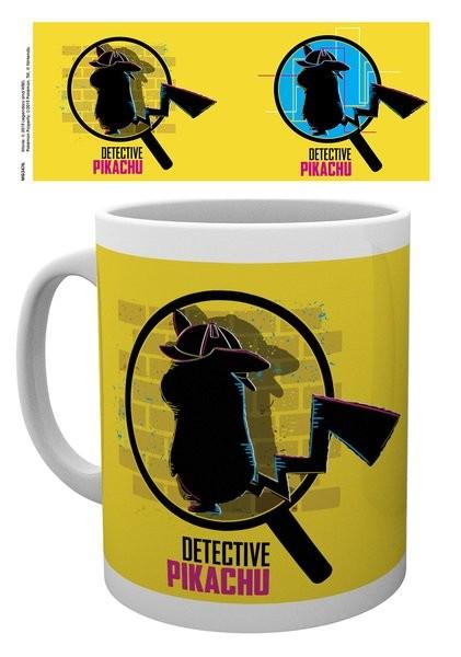 Mug Pokemon: Detective Pikachu - Magnified