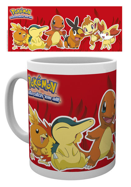 Mug Pokémon - Fire Partners