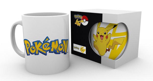 Cup Pokemon - Logo And Pikachu