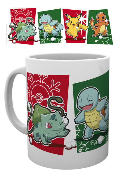 Mug Pokemon - Snowball Starters