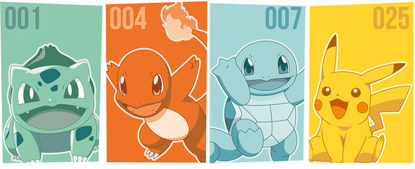 Cup Pokemon - Starters