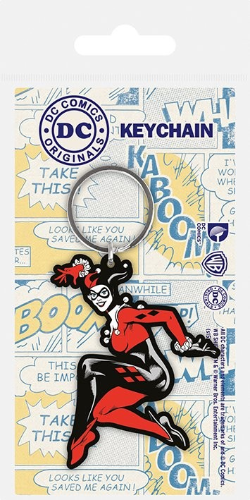 Porta-chaves DC Originals - Harley Quinn