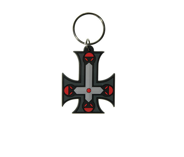 Porta-chaves GOTHIC CROSS - Inverted