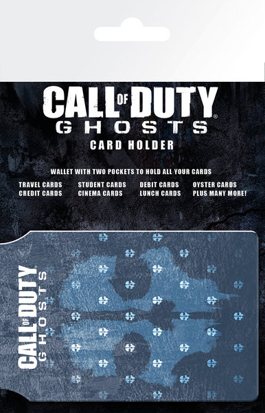 CALL OF DUTY GHOSTS - logo Porte-Cartes