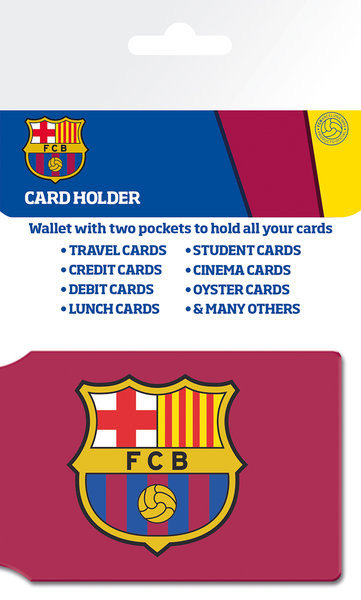 FC BARCELONA - crest Porte-Cartes