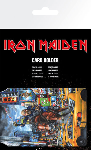 IRON MAIDEN – New York Porte-Cartes