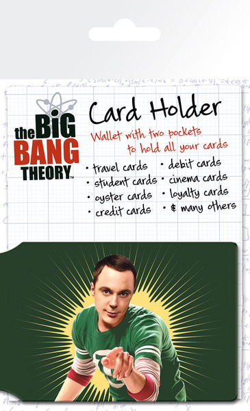 The Big Bang Theory - Bazinga Porte-Cartes