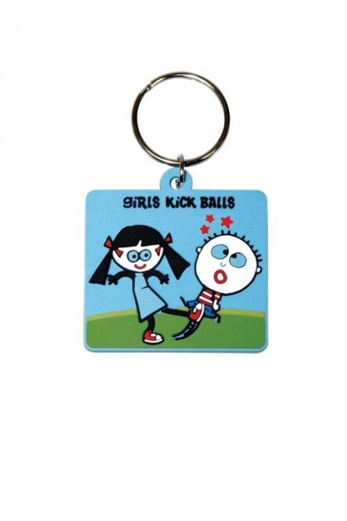 TRENDY WENDY - Girls Kick Ball Porte-clés