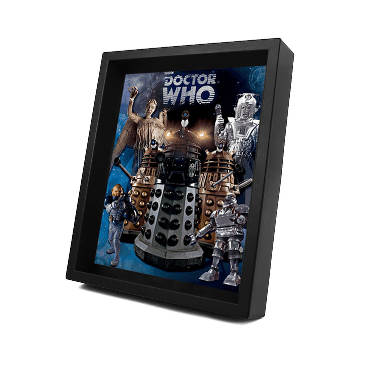 Framed 3Dposter  DOCTOR WHO - aliens