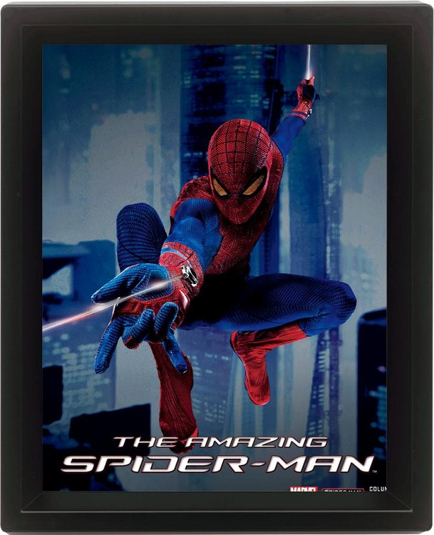 Framed 3Dposter SPIDER-MAN
